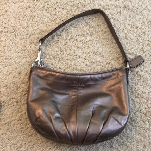 Coach Handbags - Coach small metallic purse